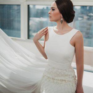 Ксения Бабинова (выпуск 2013 г.) для журнала «Свадьба»